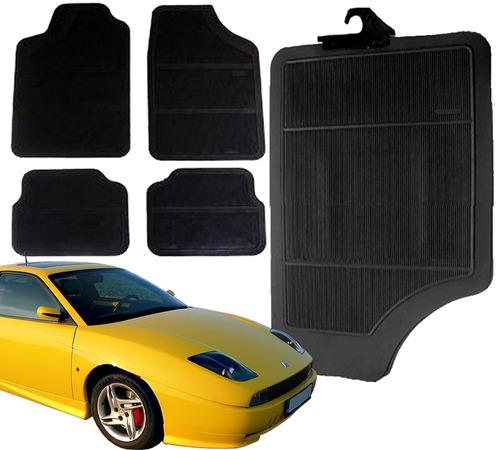 tapete automotivo não bordado fiat carro coupé o kit
