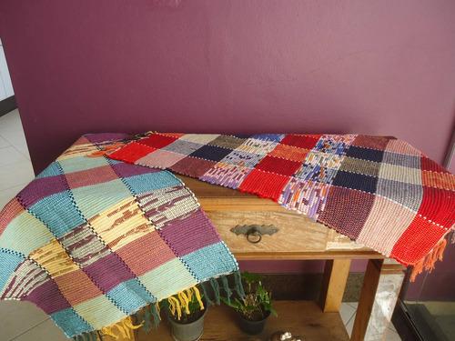 tapete baianinha artesanal 80 x 50cm cores variadas (unid.)
