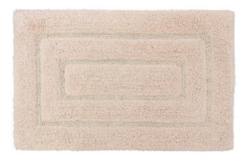 tapete baño 3d micro fiber 45 x 75 7121 fawn beige biotrade