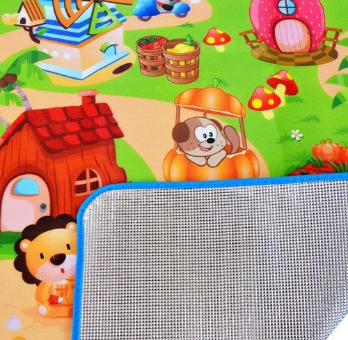 tapete bebe alfombra niño juego educativo interior exterior
