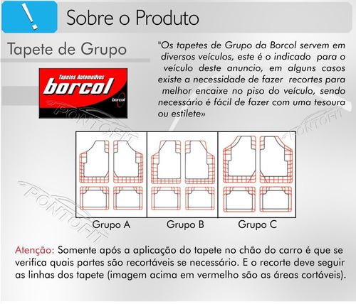 tapete borcol borracha preto c vw nova spacefox