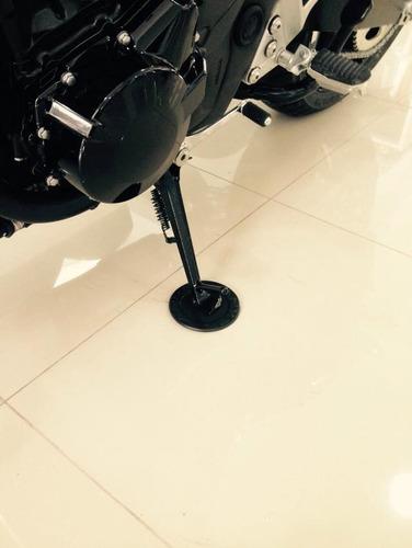 tapete borracha cavalete pedal pezinho lateral triumph bmw