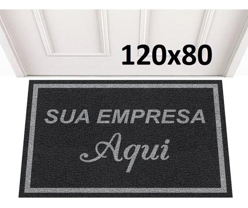 tapete capacho 120x80 personalizado logomarca +frete grátis