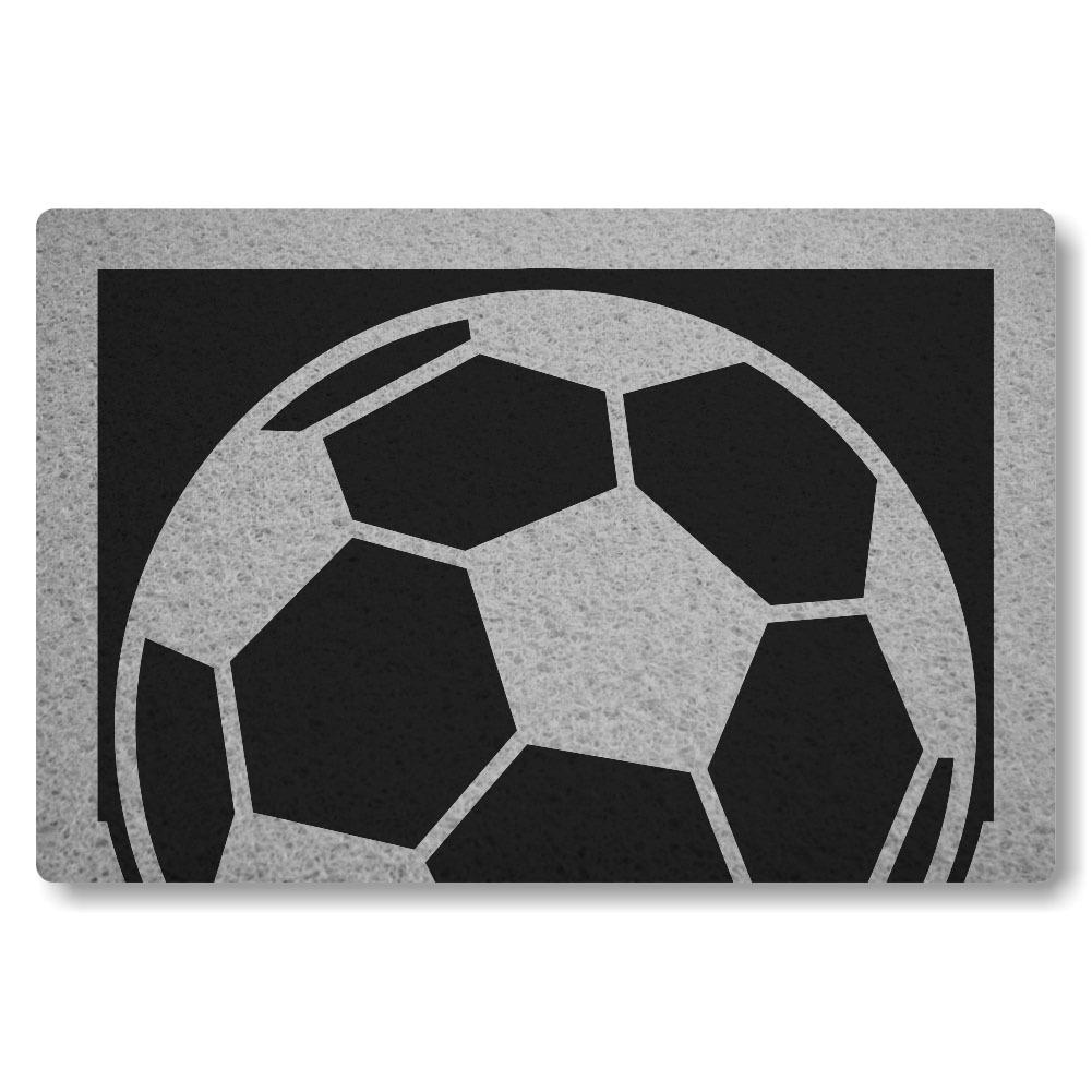 tapete capacho personalizado bola de futebol - preto - 60x40. Carregando  zoom. e583644869c4f