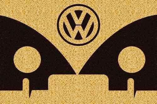 tapete capacho personalizado carro antigo kombi