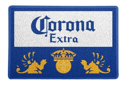 tapete capacho personalizado  corona