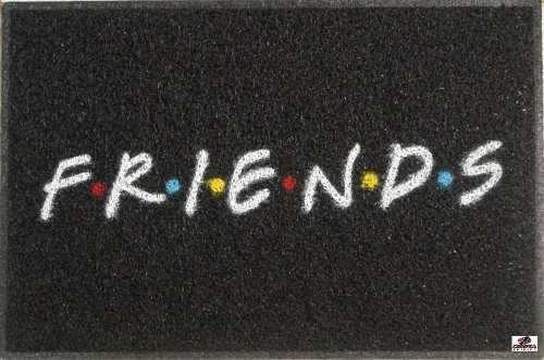tapete capacho personalizado friends série - borda rebaixada