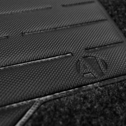 tapete carpete a6 preto 94 95 96 97 logo bordado 2 lados