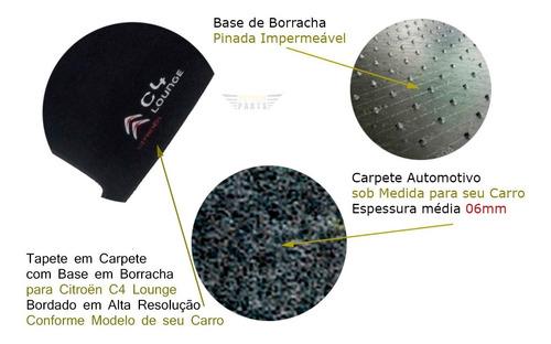 tapete carpete carro citroen c4 lounge 2013 a 2019