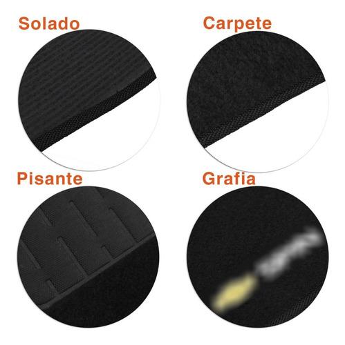 tapete carpete chevrolet spin preto personalizado