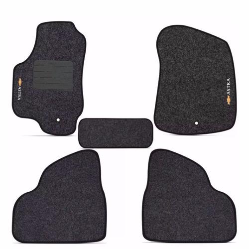 tapete carpete confort astra 2003 até 2012 bordado