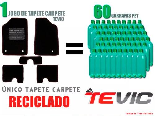tapete carpete confort bordado fiat stilo - 5 peças