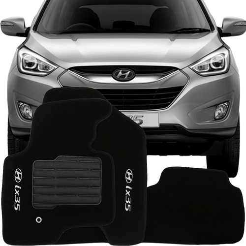 tapete carpete confort bordado hyundai ix35