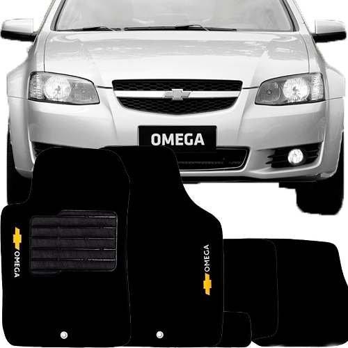 tapete carpete confort chevrolet omega 2011/... 5 peças