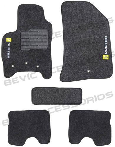 tapete carpete confort duster 11 12 13 14 - 5 pçs grafite