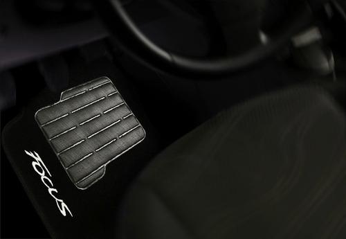 tapete carpete confort ford novo focus 13 14 2015 - 5 peças