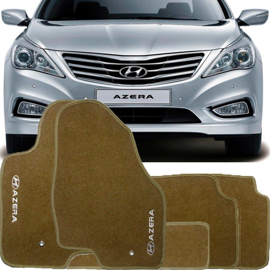 2013 Hyundai Azera Camshaft: Tapete Carpete Lavável Bordado Hyundai Azera Bege 2013