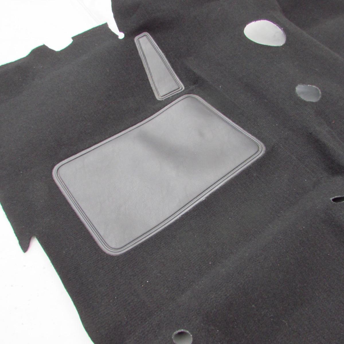 Tapete Carpete Moldado D20 4x4 Cabine Simples Preto Original R 470 00 Em Mercado Livre