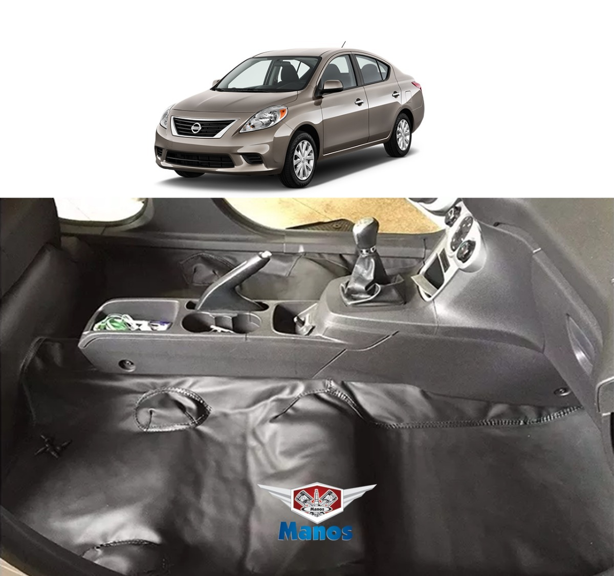 Tapete Carpete Nissan Versa C Mala Em Vinil Luxo Fosco R 295 80 Em Mercado Livre