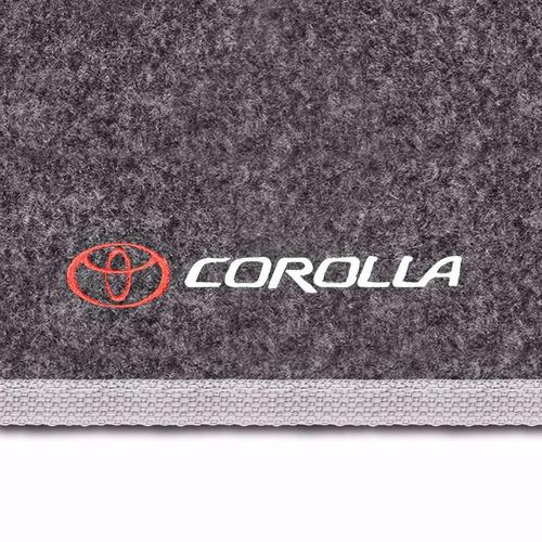 tapete carpete porta mala corolla grafite 09 10 11 12 13 14