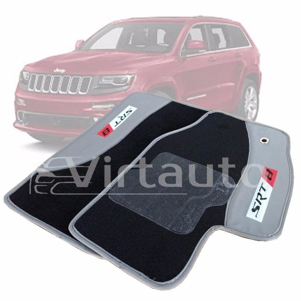 Tapete Carpete Preto Jeep Grand Cherokee Srt8 2005 A 2010. Carregando Zoom.