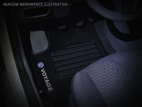 tapete carpete voyage 2009 - 2014 personalizado preto c logo