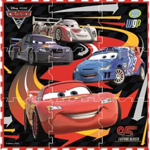 tapete cars tipo foamy  póster v2 goplas envio gratis