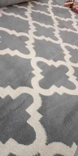 tapete celestine prata 2x2,5m são carlos geometrico tp herat