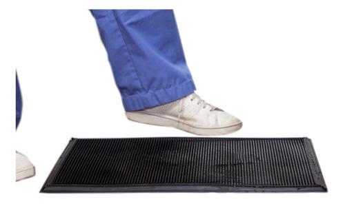 tapete charola sanitizante desinfectante de calzado zapatos