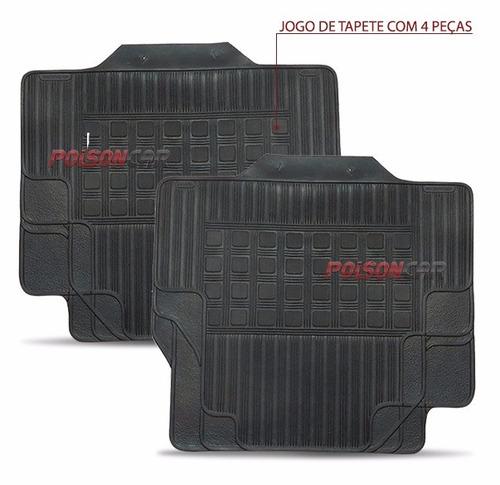 tapete cobalt 12 14 15 nova tracker borracha borcol 4 peças