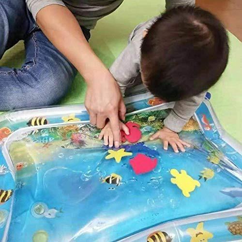 tapete cojín inflable de agua para bebés play mat finerplan
