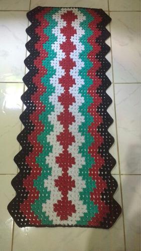 tapete colorido 1,15 comprimento por 48 cm largura.r$60