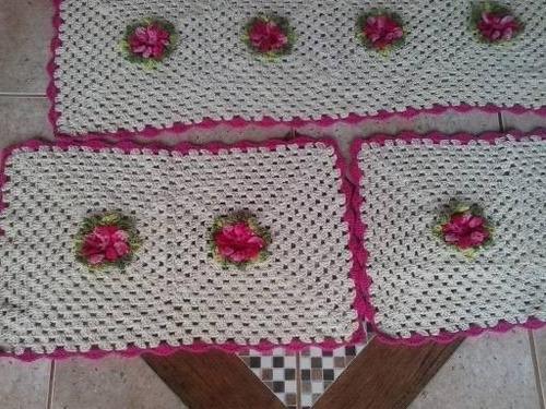 tapete com flores