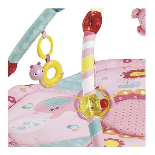 tapete de atividades encantado rosa - kiddo