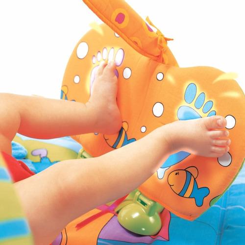 tapete de atividades gymini playground - tiny love + brinde