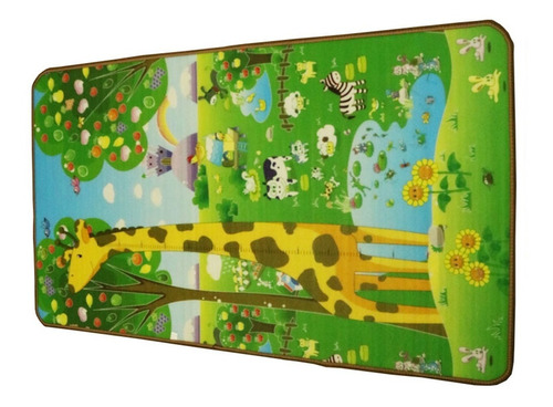 tapete de atividades tatame infantil 180x115 colorido