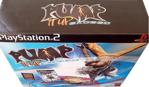 tapete de baile+ juego pump it up exceed playstation 2