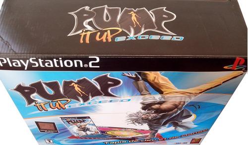 tapete de baile pump it up exceed playstation 2 y xbox