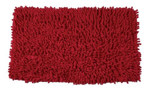 tapete de baño twist rojo 50x80 cms(se vende sin empaque)