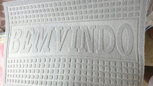 tapete de camuça bem - vindo
