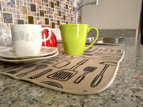 tapete de cocina para secado de utensilios ref 40140 interde