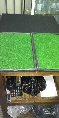 tapete de desinfecion+ bandeja+ tapete de secado