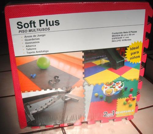tapete de fomi 8 piezas (foamy) envío gratis