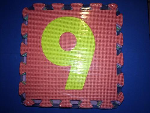 tapete de fomi, foami, fomy foamy con 10 mosaicos 28x28cm di