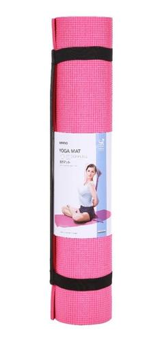 tapete de ioga 6mm miniso - cor rosa