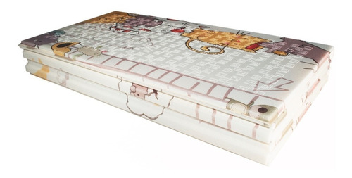 tapete de juego plegable multiusos papubaby 155 x 200 cm para bebés