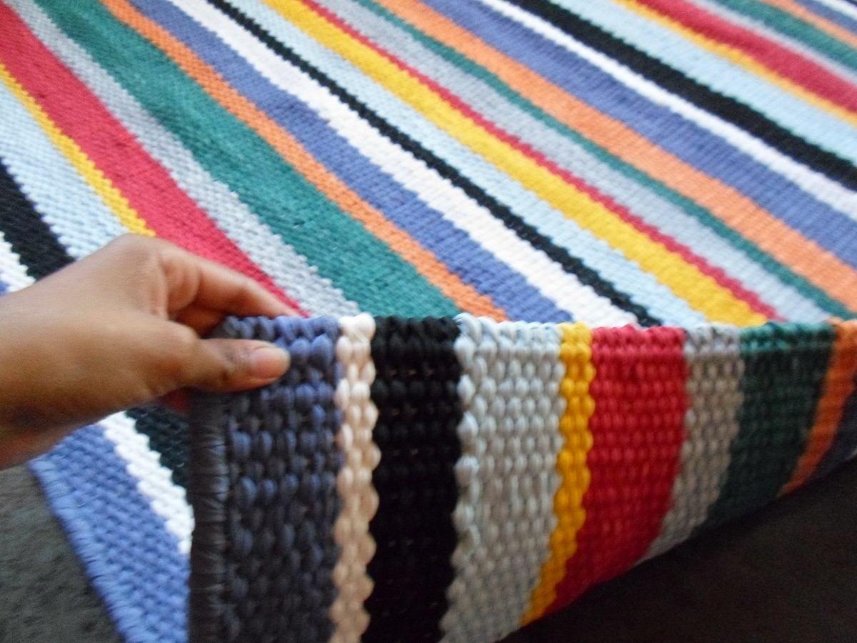 Tapete Colorido Para Sala Tapete Sala Tear Bico Colorido With  -> Tapete De Sala Drops