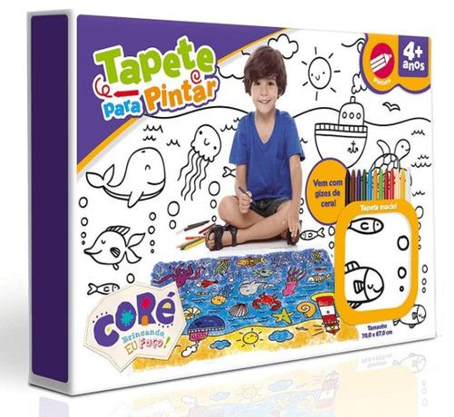 tapete de pintar lavavel com giz de cera toy story 4 toyster