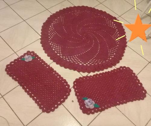 tapete de sala com +dois pequenos