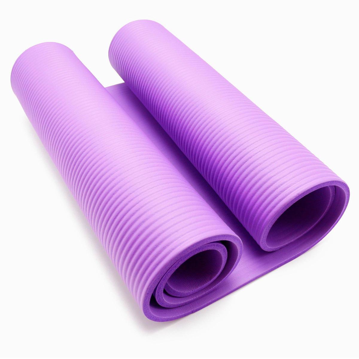 35e10dcdd tapete de yoga confort cor roxo em nbr e 8mm. Carregando zoom.